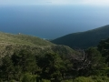 23 - vista da un monte sud Albania