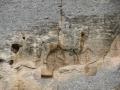 monastero di Madara-cavaliere scolpito nella roccia-800
