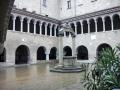 basilica di S.Stefano-chiostro medievale
