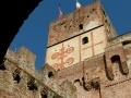 porta bassanese con carro dei Carraresi e stemma Padova