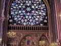 Parigi-rosone Sainte-Chapelle