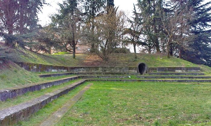 Anfiteatro nel Parco Grugnotorto Villoresi