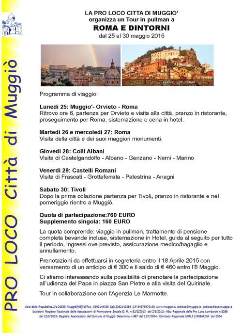 Tour Roma e dintorni-500