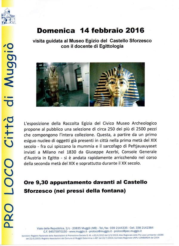 volantino museo Egizio 500