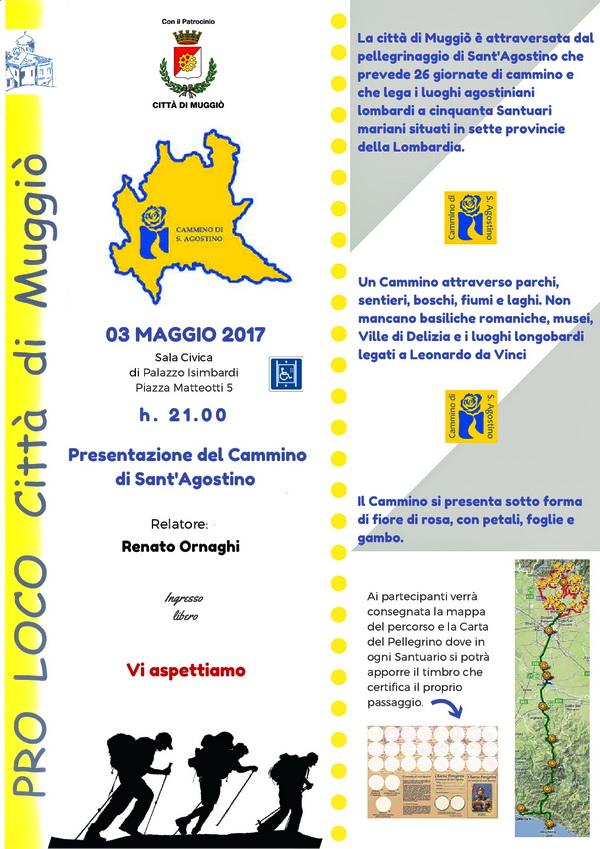Volantino CAMMINO S. AGOSTINO-600