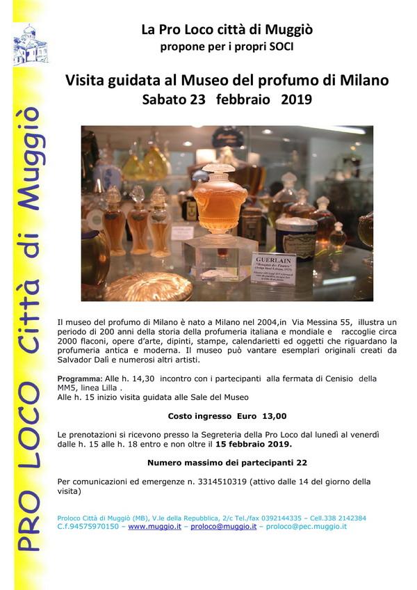 Volantino MUSEO DEL PROFUMO - 600