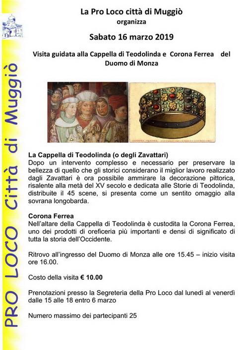 Locandina Cappella Teodolinda- 500