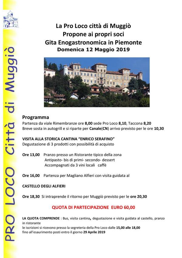 Gita enogastronomica Piemonte - 600 sito